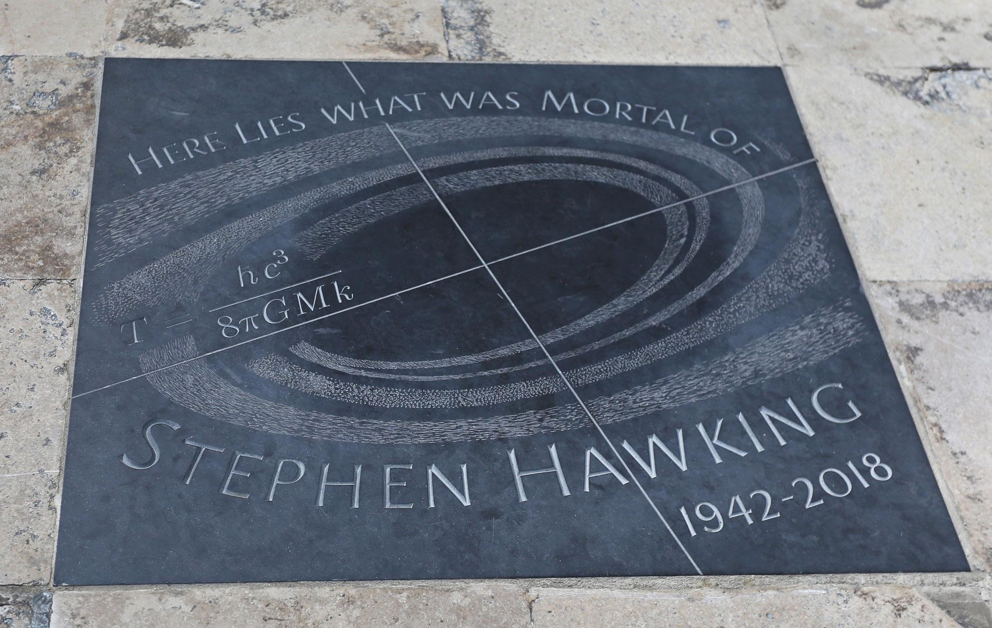 Professor Stephen Hawking Memorial